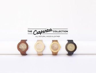 The Carpenter Collection de chez Analog Watch Co