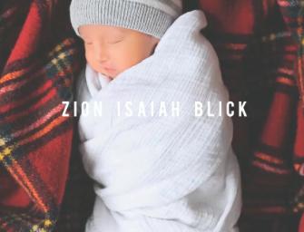 #IHEARTZION : Un hommage à Zion Isaiah Blick