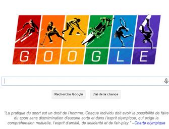 Un doodle gay friendly pour l'ouverture des JO
