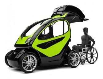Equal : La voiture pour personnes à mobilité réduite