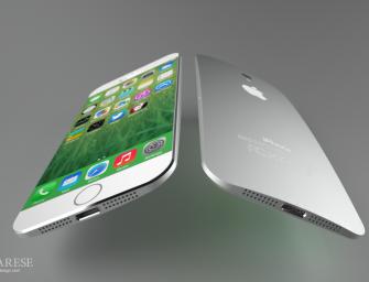 Iphone 6 : Design en 4,7 et 5,5 pouces par Federico Ciccarese