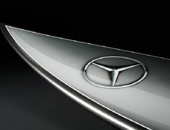 La planche de surf Mercedes-Benz
