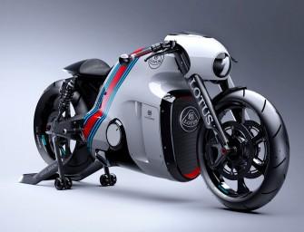 Lotus C-01 : La superbike venue de Tron