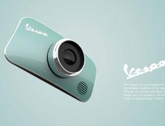 Un appareil photo Vespa pour un look inimitable
