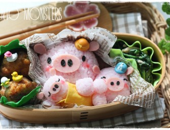 Bento Monsters : Les créations culinaires d'une maman