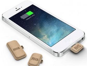 Le Mini Power : chargeurs en papier pour smartphone