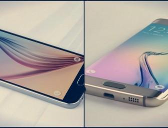 Samsung Galaxy S6 et S6 Edge : C'est officielle !
