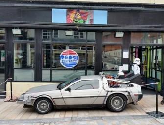 Le retour du Café 80 de Retour Vers le Futur II