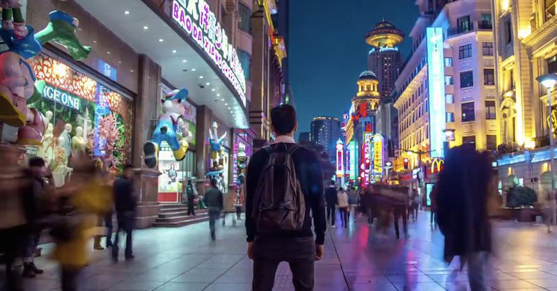 walk in shanghai
