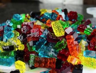Des LEGO en bonbons et pas l'inverse