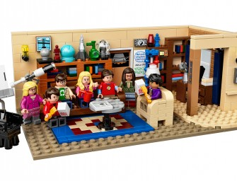 The Big Bang Theory en version LEGO