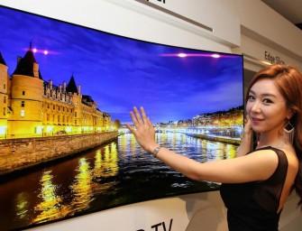 LG dévoile un prototype d'écran aussi fin qu'une affiche