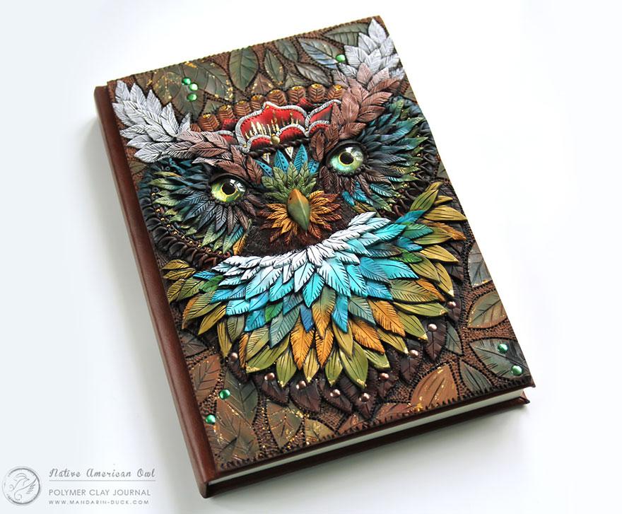 Les Magnifiques Couvertures Et Reliures De Livres De Mandarin Duck