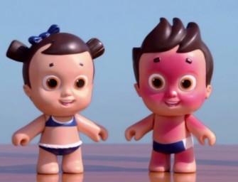 Nivea Doll : La poupée qui prend de coups de soleil