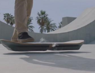 Slide : l'hoverboard selon Lexus