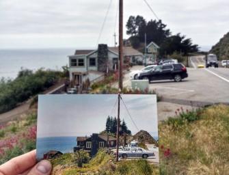 Venez découvrir le surprenant projet du photographe Christian Carollo sur route des vacances de ses grands parents