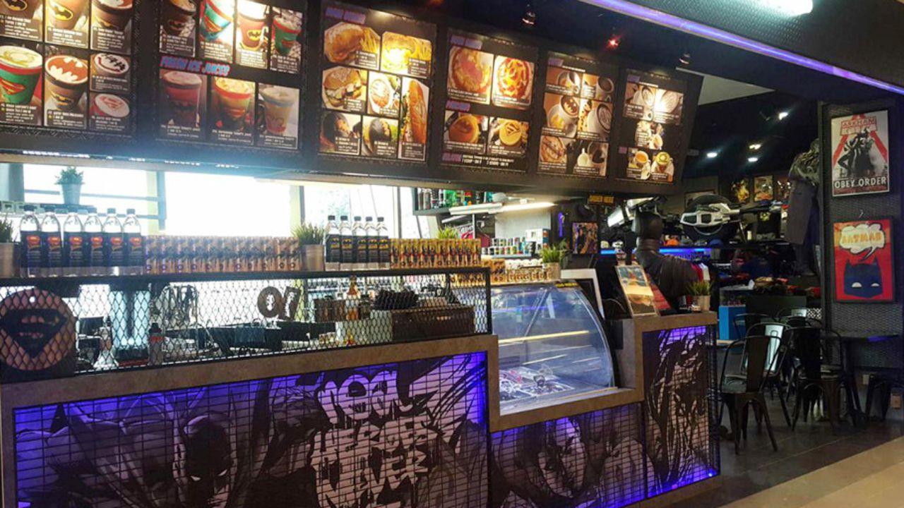 restaurant DC Comics