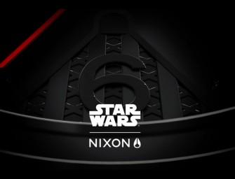 Star Wars NIXON : Le coté obscur de la Force à porté de poignet