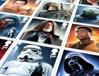 La Royal Mail va publier une série de 18 timbres sur la saga Star Wars