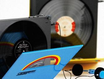 Une entreprise Allemande imagine un lecteur de vinyles portable