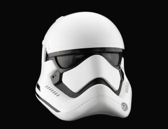 En attendant Star Wars VII, découvrez une reproduction détaillée du casque Stormtrooper grandeur nature par ANOVOS