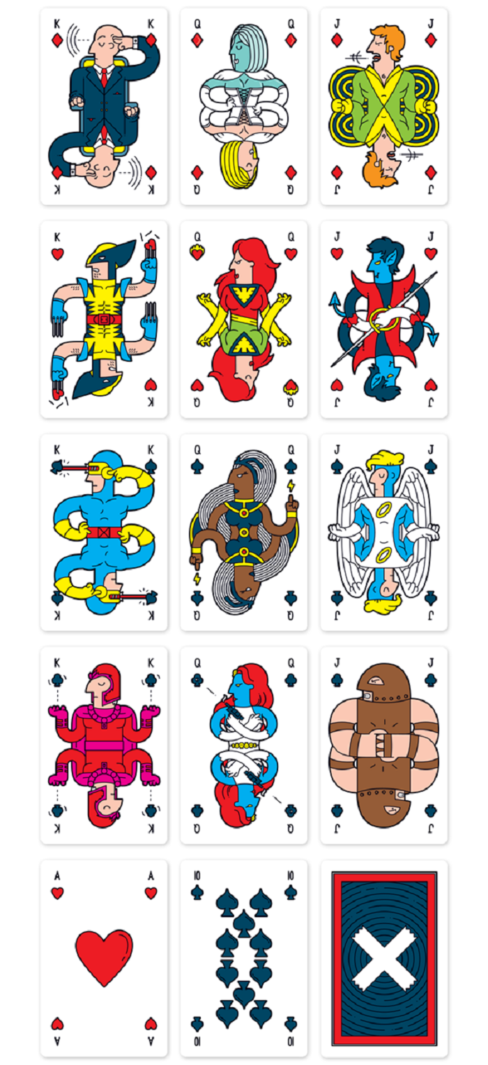 jeu de cartes Marvel3