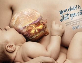 Your child is what you eat : Une campagne sensibilisation pour les futurs mamans