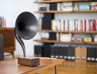 Découvrez le Gramophone 2.0, une version moderne et revisité du phonographe