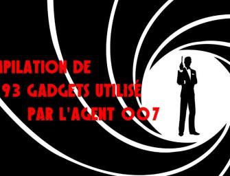 Une compilation de 193 gadgets utilisé par l'agent 007