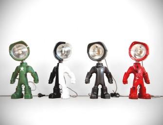 Lampster : Un petit robot lampe fort sympathique
