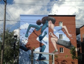 Le street artiste Made in france Julien Malland transforme des bâtiments en véritables oeuvres d'art