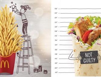 McDo Singapour transforme ses produits en cartoon sur son compte Instagram