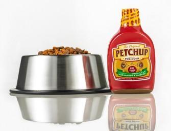 Petchup : Une ligne de condiments pour agrémenter les repas de vos animaux domestiques