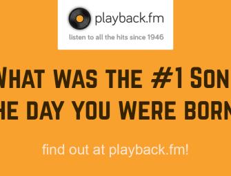 Connaissez vous la chanson numéro 1 des charts le jour de votre naissance ?