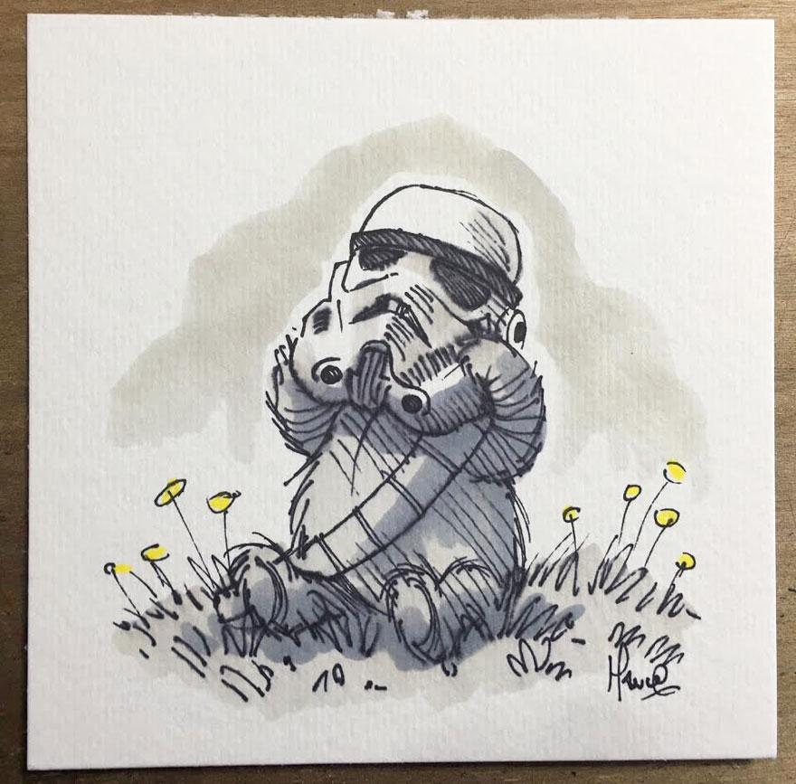 Star Wars à la sauce Winnie L'ourson3