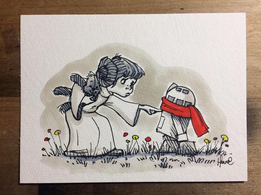 Star Wars à la sauce Winnie L'ourson7