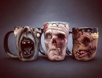 Zombie Mugs : De jolies tasses pour prendre le café au boulot