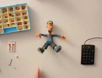 Découvrez la magie de l'animation en stop motion avec cette vidéo inédite
