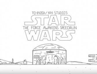 #AttentionSpoiler – Star Wars VII: Le Réveil de la Force résumé en 60 secondes