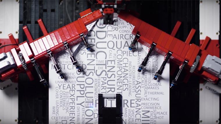 LEGO Paper Plane Machine3