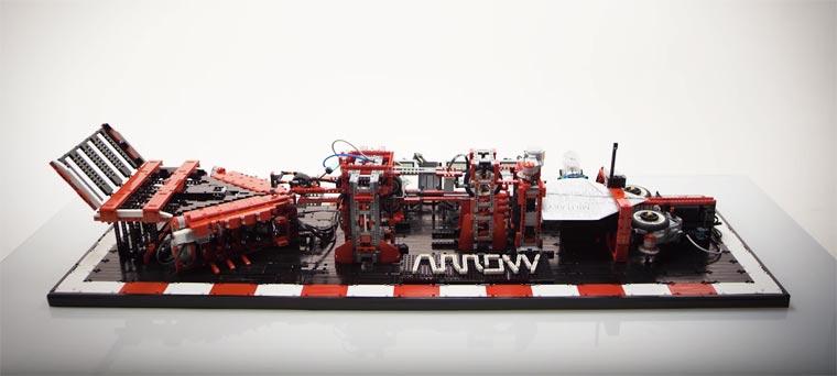 LEGO Paper Plane Machine5
