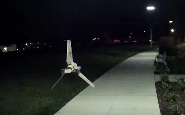 Navette Impériale drone