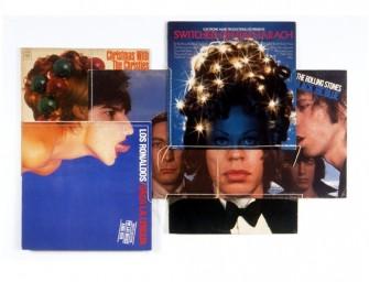Les assemblages de pochettes de vinyles de Christian Marclay