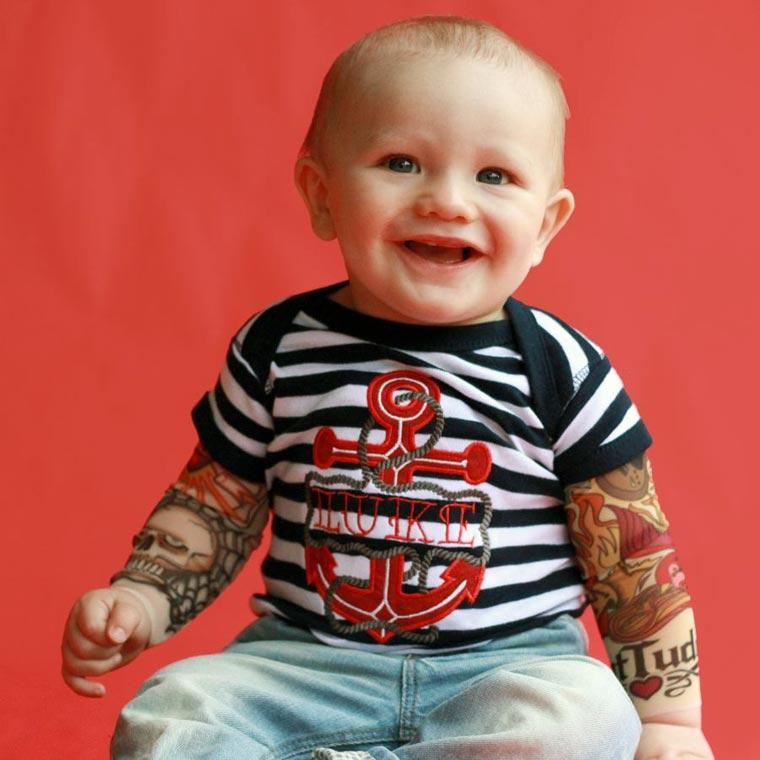 Baby Tattoo Sleeve Shirts6