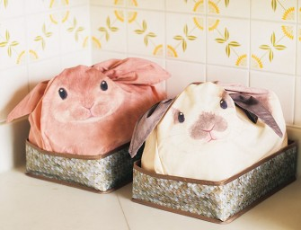 Bunny bags : Trop cute ces rangements Made in Japan qui ont l'apparence de mignons petits lapins