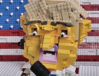 Le LEGO Donald Trump, il ne manquait plus que ça !