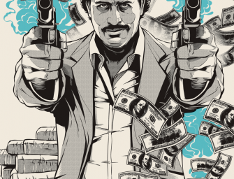 Pablo Escobar illustrations