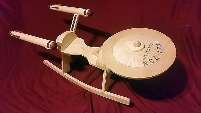 Rocking-chair Star Trek2