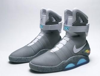 Les Nike Air Mag auto-laçantes de Marty McFly vont être commercialisées !