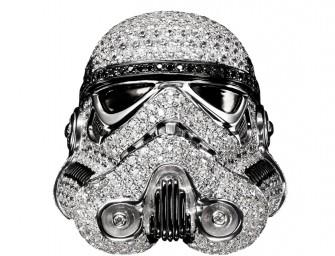 Focus sur cette collection de bijoux Star Wars incrustées de diamants